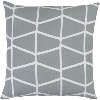 Canning 100% Cotton Throw Pillow Cover Size: 18 H x 18 W x 1 D, Color: GrayNeutral