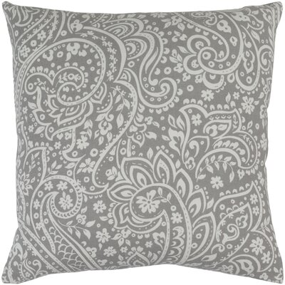Southwood 100% Cotton Throw Pillow Cover Color: GrayNeutral, Size: 22 H x 22 W x 0.25 D
