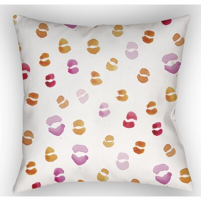 Trina Lips Indoor/Outdoor Throw Pillow Size: 18 H x 18 W x 4 D