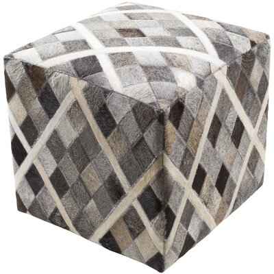 Surya Lycaon Cube Pouf Ottoman LCPF004-181818