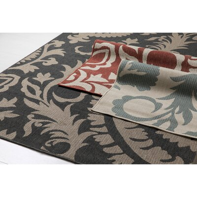 Hattie Parchment & Sage Indoor/Outdoor Rug Rug Size: Square 89