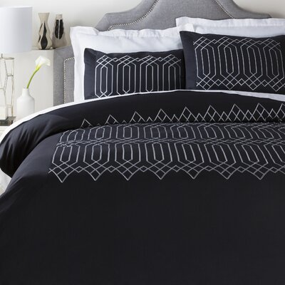 Plaza Duvet Cover Size: Full/Queen