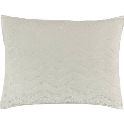 Watertown Chevron Sham Size: Standard