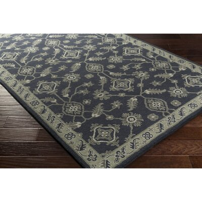 Langport Hand-Tufted Slate/Moss Area Rug Rug Size: Rectangle 2 x 3