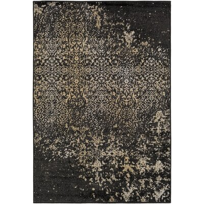 Kulpmont Black Area Rug Rug size: Rectangle 79 x 112