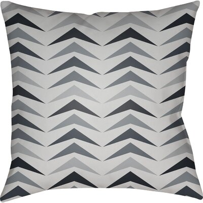 Wakefield Contemporary Square Throw Pillow Size: 22 H �x 22 W x 5 D, Color: Grey