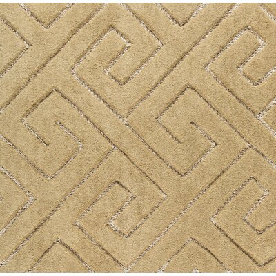 Hereford Hand-Tufted Beige Area Rug Rug Size: Rectangle 2 x 3