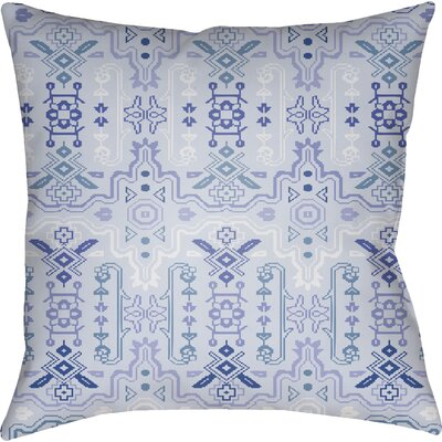 Libchava Square Throw Pillow Color: Blue, Size: 22 H x 22 W x 5 D
