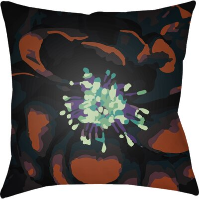 Virgil Indoor Throw Pillow Size: 18 H x 18 W x 4 D, Color: Rust