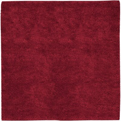 Bonney Red Area Rug Rug Size: Square 8