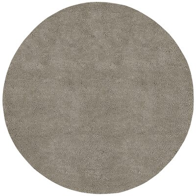 Bonney Gray Area Rug Rug Size: Round 8