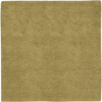 Bonney Gold Area Rug Rug Size: Square 8