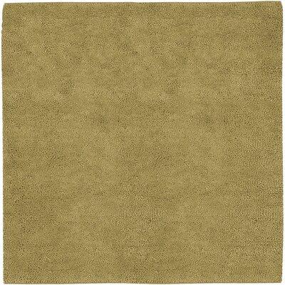Bonney Gold Area Rug Rug Size: Square 8