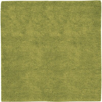 Bonney Hand Woven Wool Green Area Rug Rug Size: Square 8