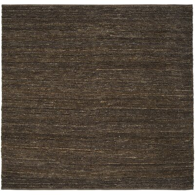 Bonnett Brown Area Rug Rug Size: Square 8