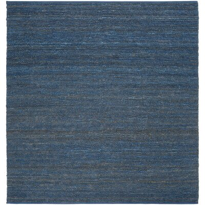 Bonnett Blue Area Rug Rug Size: Square 8