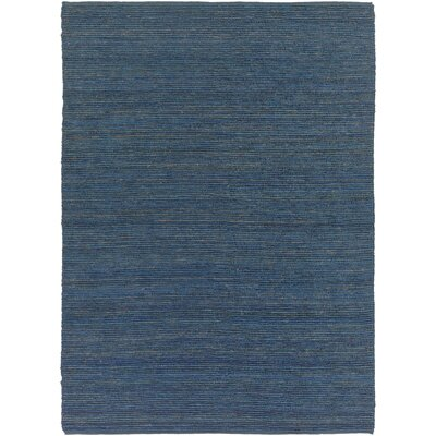 Bonnett Hand-Woven Blue Area Rug Rug Size: Rectangle 36 x 56