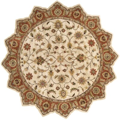 Stanford Golden Beige Rug Rug Size: Novelty 8 x 8