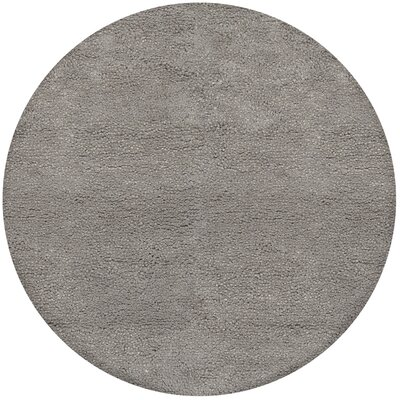 Janell Gray Rug Rug Size: Round 8