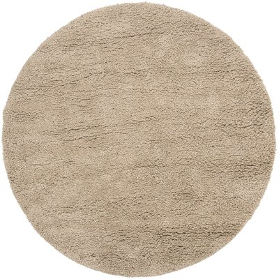 Janell Tan Rug Rug Size: Round 8