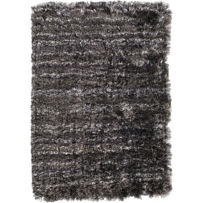 Halsted Black Area Rug Rug Size: Rectangle 8 x 10