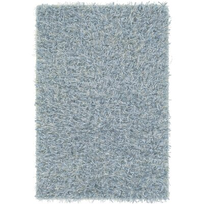 Reina Hand Woven Cloud Blue Area Rug Rug Size: Rectangle 2 x 3