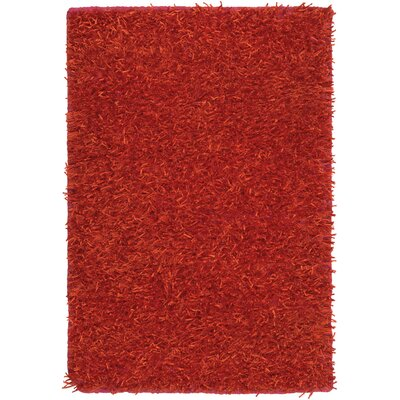 Reina Orange Rug Rug Size: Rectangle 8 x 10