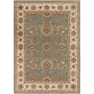 Vickers Gray Area Rug Rug Size: Rectangle 2 x 3