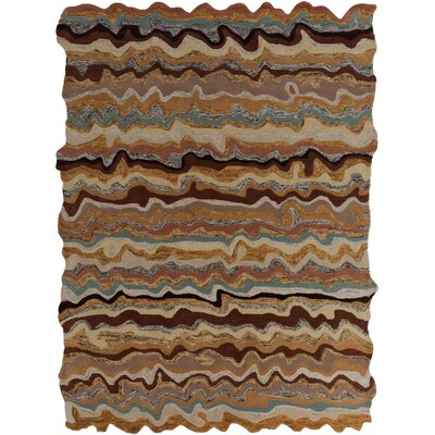 Ramsay Chevron Area Rug Rug Size: Rectangle 33 x 53