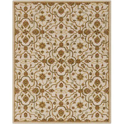 Burwood Parchment Rug Rug Size: Rectangle 33 x 53