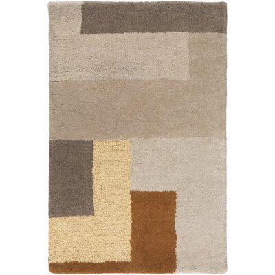 Sturbridge Oyster Gray/Golden Brown Rug Rug Size: Rectangle 2 x 3