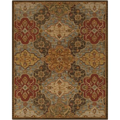 Burwood Fatigue Green Rug Rug Size: 33 x 53