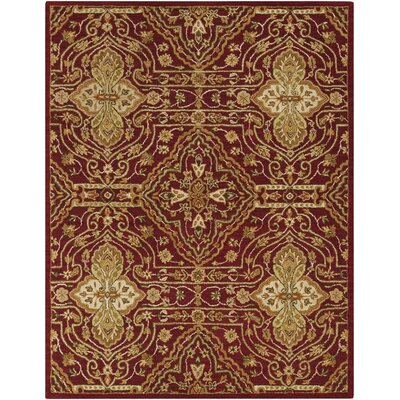 Burwood Dark Goldenrod Rug Rug Size: Rectangle 8 x 10