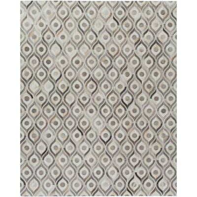 Horton Beige/Gray Area Rug Rug Size: Rectangle 8 x 10