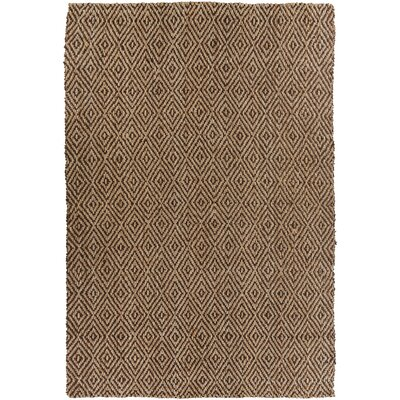 Jaidan Coffee Bean Rug Rug Size: Rectangle 33 x 53