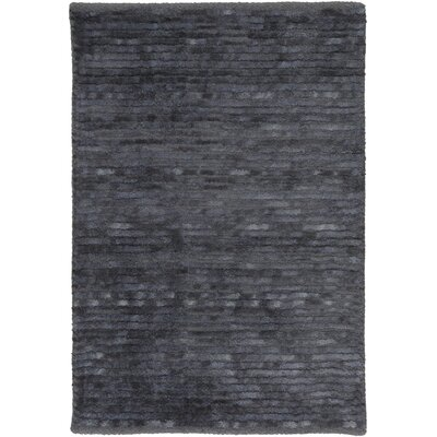 Griffith Steel Blue Area Rug Rug Size: 33 x 53