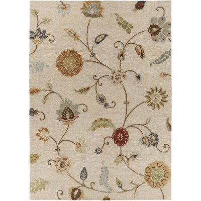 Stowe Ivory Rug Rug Size: Rectangle 33 x 53