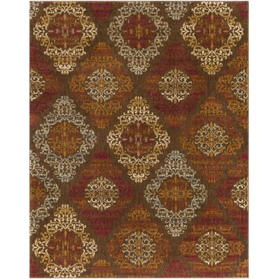 Ventanas Cherry Area Rug Rug Size: Rectangle 710 x 910