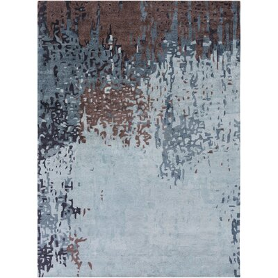 Johnna Slate Area Rug Rug Size: Rectangle 2 x 3