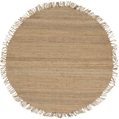 Dorrough Hand-Woven Area Rug Rug Size: Round 6