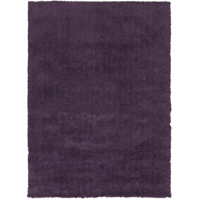 Hallum Dark Purple Taupe Rug Rug Size: Rectangle 2 x 3