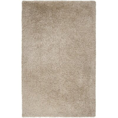 Croce Antique White Rug Rug Size: 23 x 46