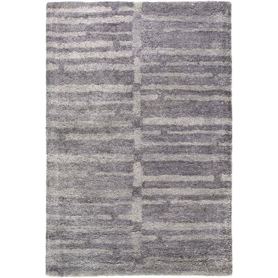 Clemmer Gray Area Rug Rug Size: Rectangle 2 x 3