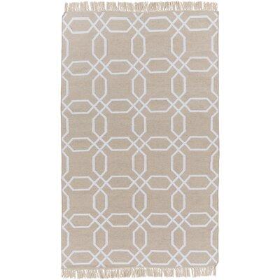 Larksville Ivory/Light Grey Area Rug Rug Size: Rectangle 36 x 56