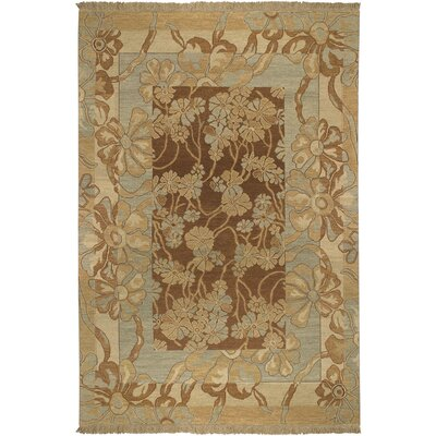 Aimee Mocha Rug Rug Size: Rectangle 6 x 9