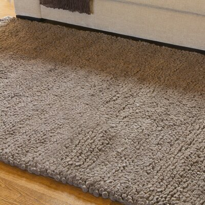Bonney Tan Area Rug Rug Size: Tan Shag Square Rug