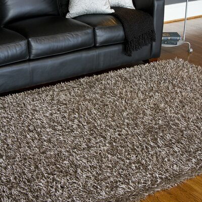 Bonomo Taupe Area Rug Rug Size: Rectangle 36 x 56