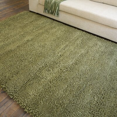 Bonney Hand Woven Wool Green Area Rug Rug Size: Runner 4 x 10