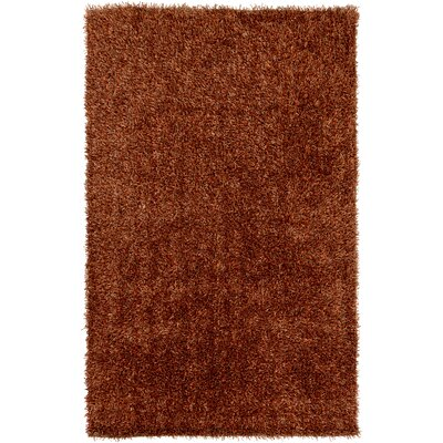 Ochoa Hand Woven Rust Area Rug Rug Size: Sample 6