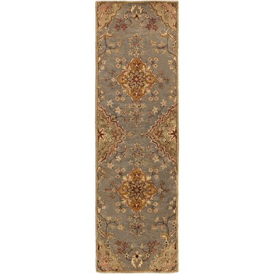 Ponce Gold Rug Rug Size: Runner 26 x 8
